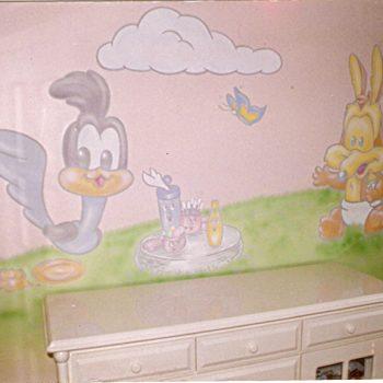 Pinturas em Quartos Infantis